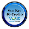 Sam Key 40 Credits